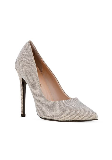 Decolletè glitter beige ALBANO | Decollete' | 1150NIGHTBEIGE
