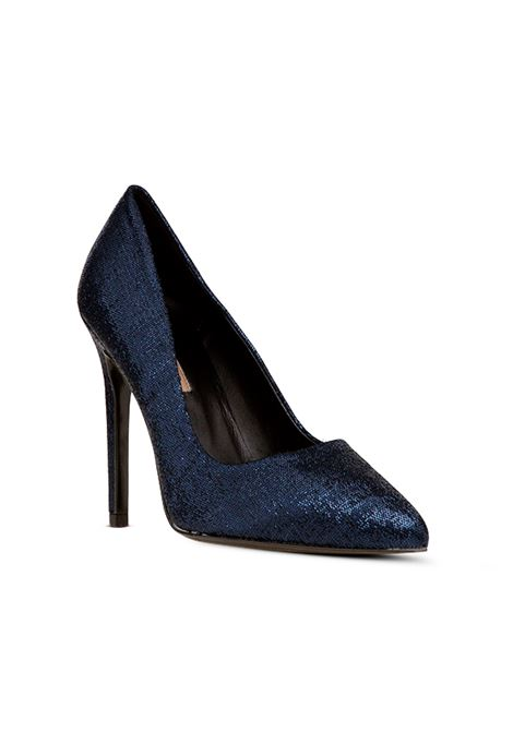 Decolletè glitter blue ALBANO | Decollete' | 1150NIGHTBLU