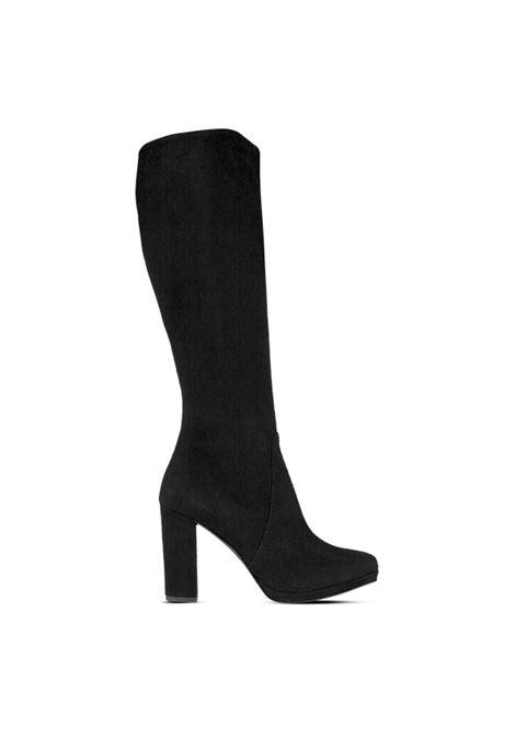Stivale camoscio nero ALBANO | Stivali | 1207CAMOSCIONERO