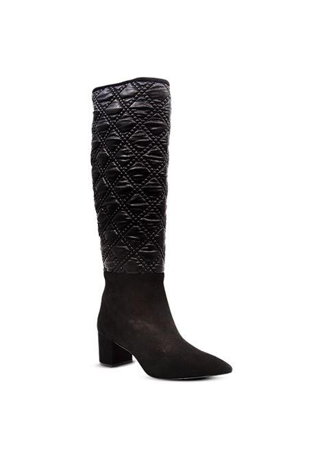 Stivale nero trapuntato ALBANO | Stivali | 1229CAMOSCIONERO