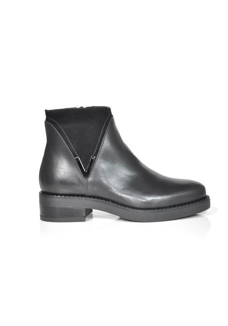 Tronchetto nero ALBANO | Boots | 0107VITELLONERO