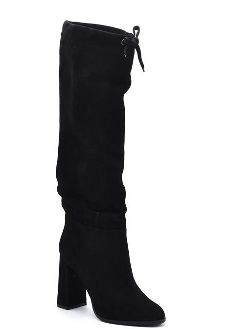 Stivale camoscio nero morbido ALBANO | Stivali | 21131CAMOSCIONERO