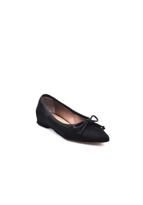 Ballerina in cavallino nera ALBANO | Ballerine | 21473CAVALLINONERO