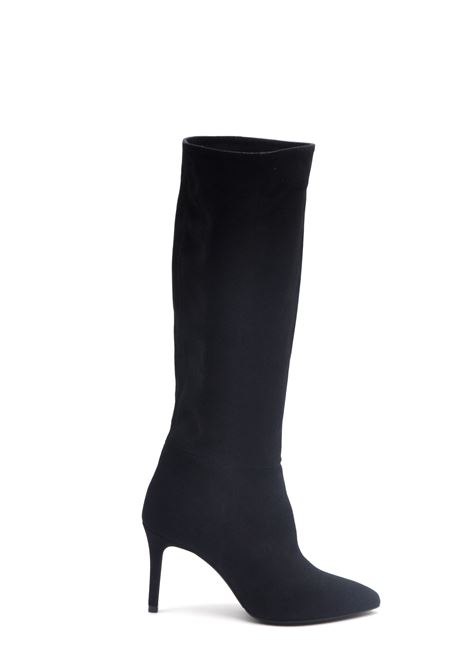 Stivali camoscio nero ALBANO | Stivali | 1023CAMOSCIONERO
