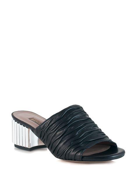sandali neri senza cinturino ALBANO | Sandali | 1828NERO