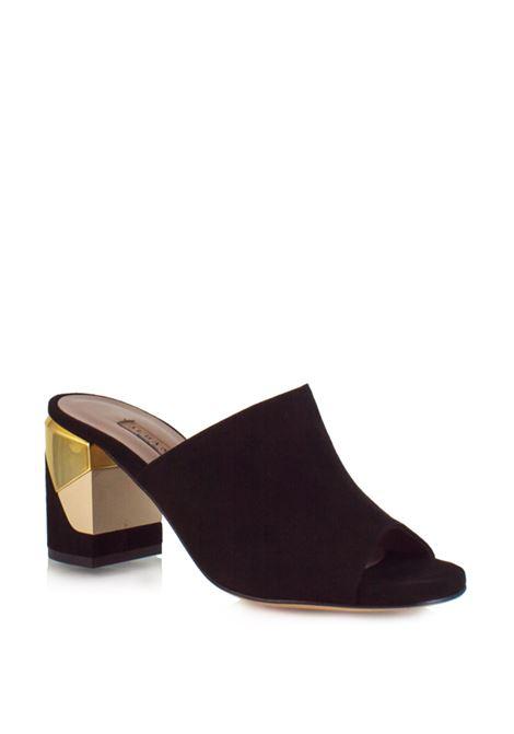 sandalo nero senza cinturino ALBANO | Sandali | 1978NERO