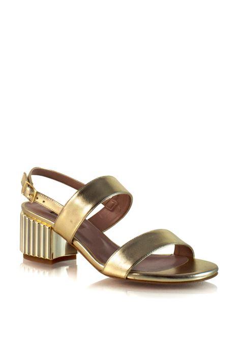 sandalo oro con cinturino ALBANO | Sandali | 2138PLATINO
