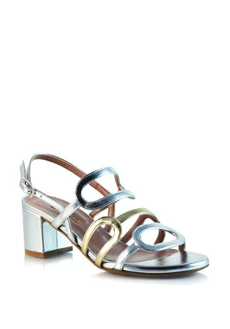sandalo bicolore ALBANO | Sandali | 3408ARGENTO