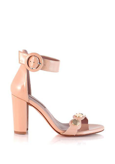 sandalo nude con cinturino alla caviglia ALBANO | Sandali | 3928NUDE