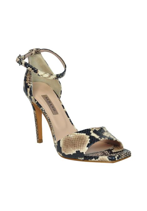 Sandalo stampa pitone ALBANO | Sandali | 1214BOABEIGE