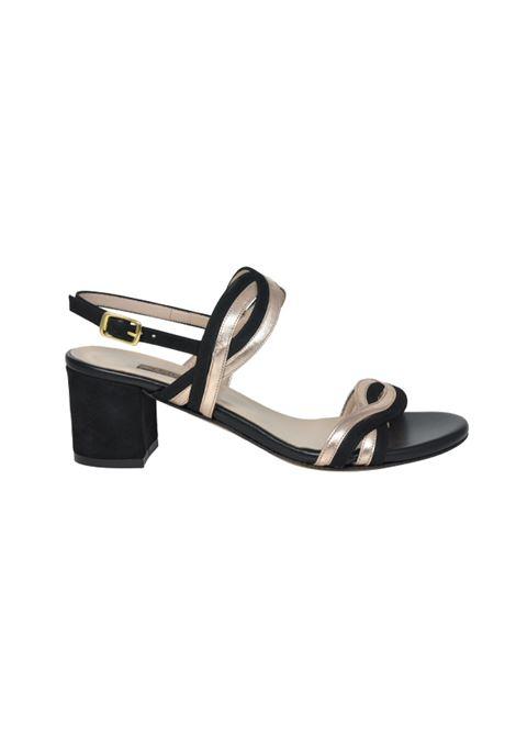 Sandalo bicolore ALBANO | Sandali | 2003VELOURNERO
