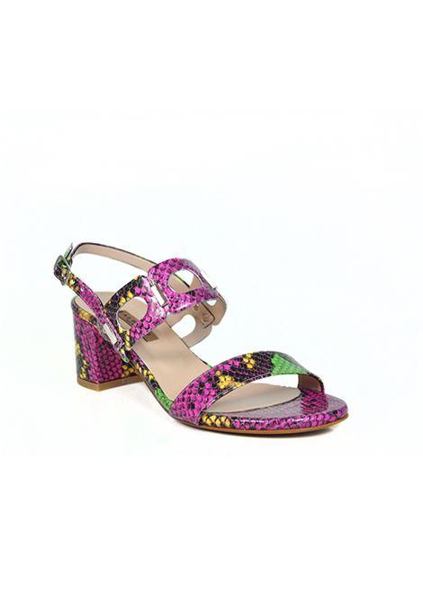 Sandalo pitonato multicolor ALBANO | Sandali | 2005PITONEMULTICOLOR