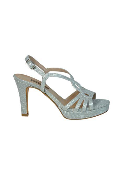 Sandalo glitter argento ALBANO | Sandali | 2026NIGHTARGENTO
