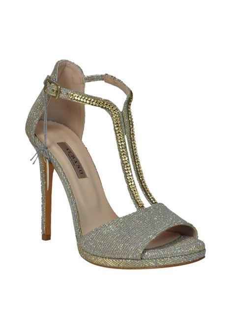 Sandalo glitter beige con swarovski ALBANO | Sandali | 2061NIGHTBEIGE