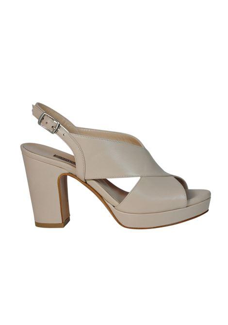 Sandalo nappa beige ALBANO | Sandali | 2073NAPPAPHARD