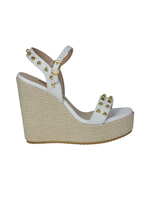 Sandalo con zeppa ALBANO | Sandali | 2089SOFTBIANCO