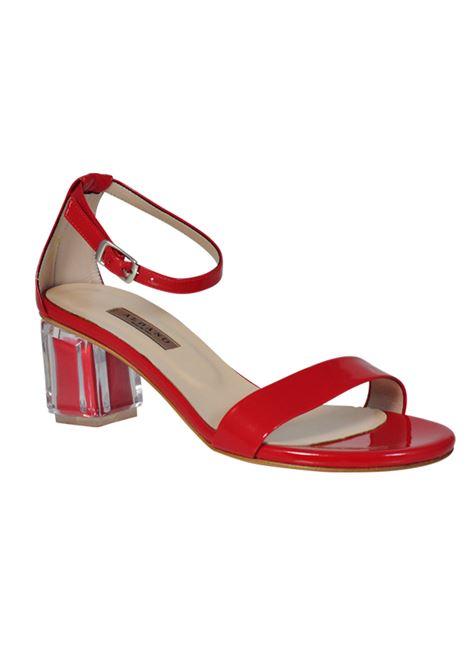 Sandalo rosso ALBANO | Sandali | 2113GLASSROSSO