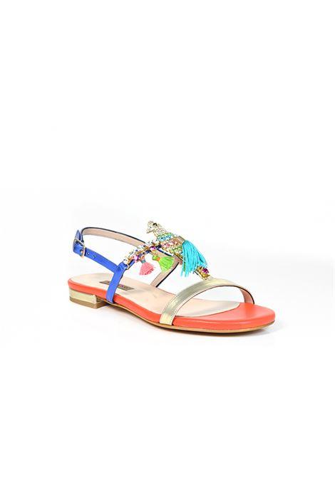 Sandalo basso multicolor ALBANO | Sandali | 2123SOFTPLATINO