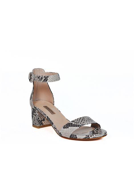 Sandalo stampato pitone ALBANO | Sandali | 2129PITONEROCCIA