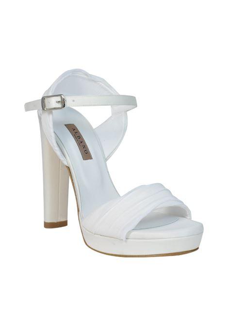 Sandalo sposa con tulle ALBANO | Sandali | 2142RASOSPOSA