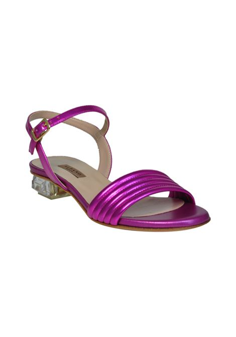 Sandalo trapuntato  metal fuxia ALBANO | Sandali | 2147SOFTMETALFUXIA