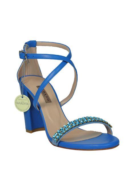Sandalo nappa azzurra ALBANO | Sandali | 2159NAPPACELESTE