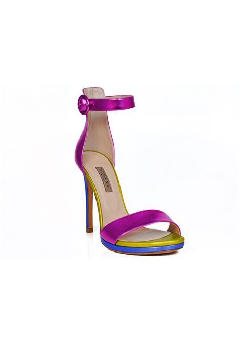 Sandalo multicolor ALBANO | Sandali | 2160SOFTMETALFUXIA