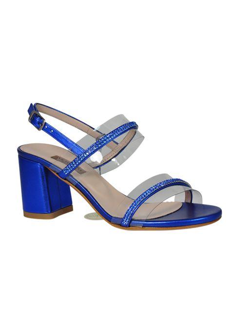 Sandalo bluette ALBANO | Sandali | 2193SOFTMETALBLUETTE