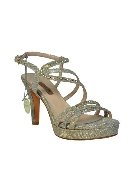 Sandalo glitter beige con swarovski ALBANO | Sandali | 2209NIGHTBEIGE
