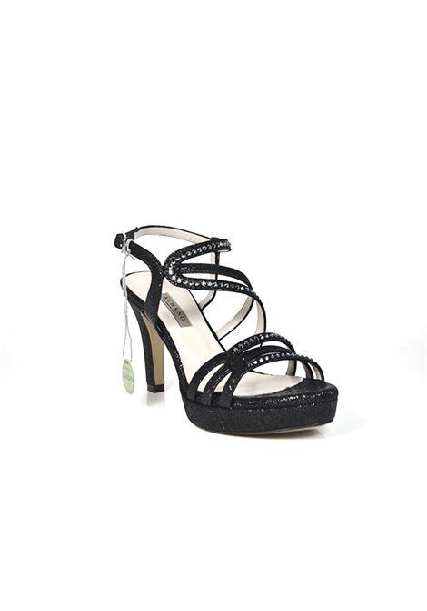 Sandalo glitter nero ALBANO | Sandali | 2209NIGHTNERO