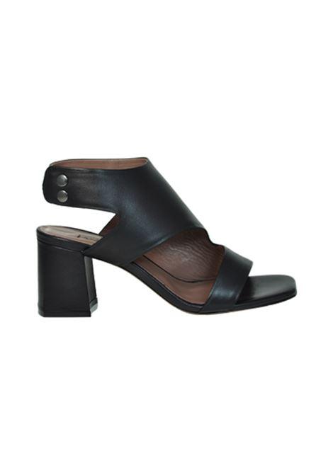 Sandalo nappa nera ALBANO | Sandali | 2226NAPPANERA