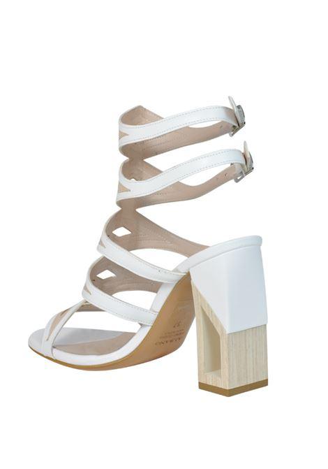 Sandalo accollato bianco ALBANO | Sandali | 2236SOFTBIANCO