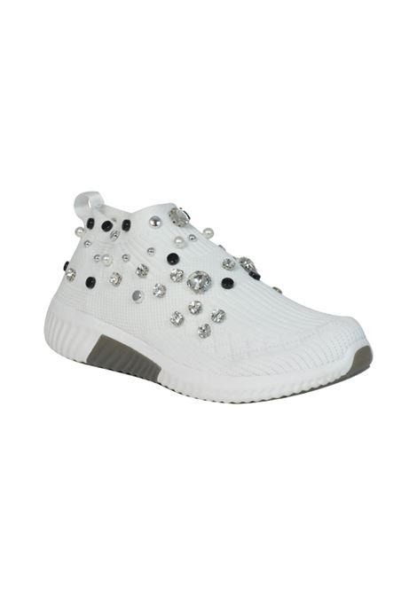 Sneakers con strass ALBANO | Ginnica | 2245CALZBIANCO