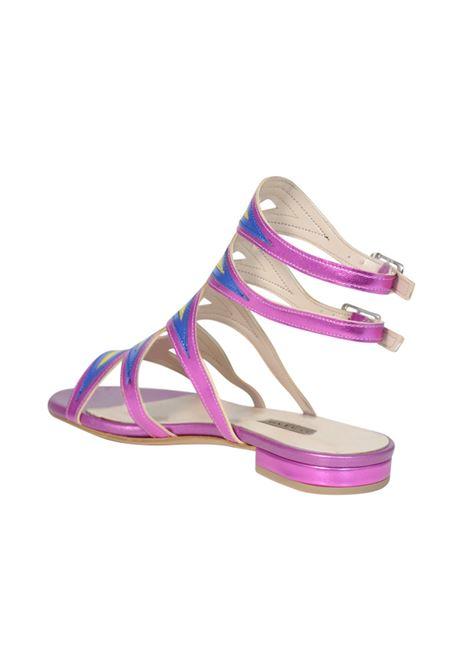 Sandalo fuxia ALBANO | Sandali | 2263SOFTMETFUXIA