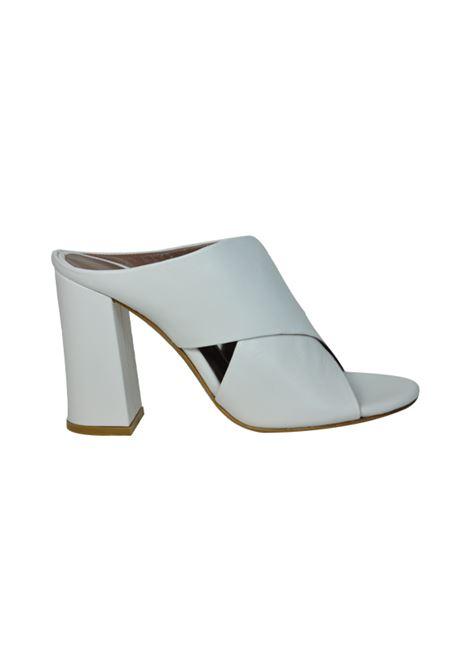 Sandalo bianco a sabot ALBANO | Sandali | 2929NAPPABIANCA