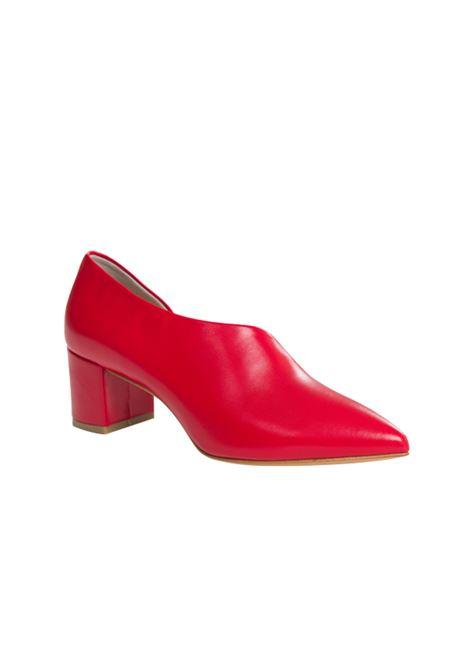 Decolletè a scarpotto rosso ALBANO | Decollete' | 1202NAPPAROSSA