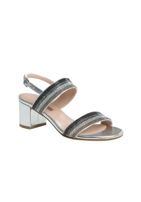 Sandalo multicolor con strass ALBANO | Sandali | 4040METALARGENTO