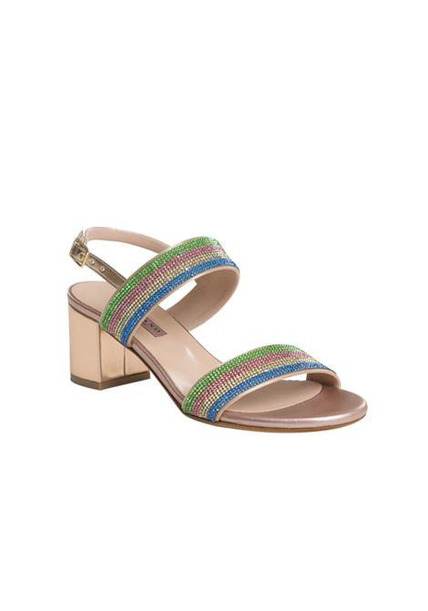 Sandalo rame con strass ALBANO | Sandali | 4040METALRAME