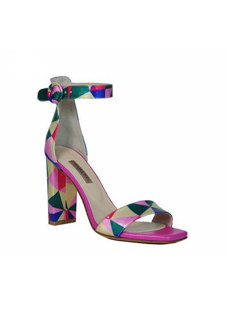 Sandalo multicolor ALBANO | Sandali | 4055ZENMULTI/SOFTFUXIA