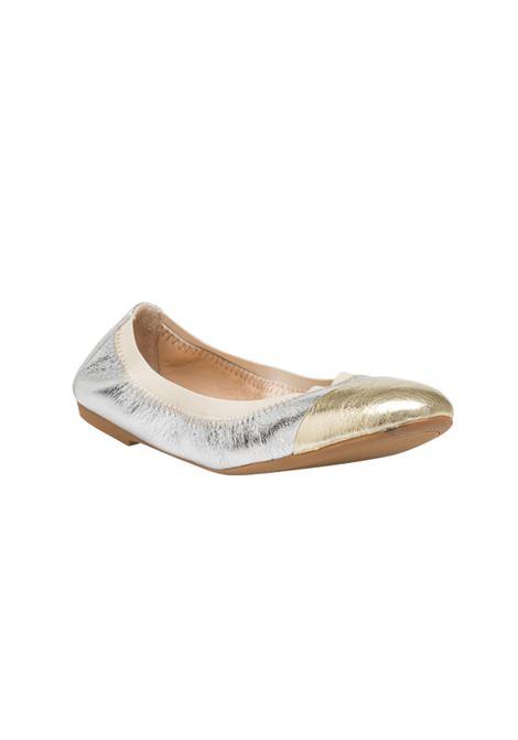 Ballerina argento e platino ALBANO | Ballerine | 4072METALARGENTO