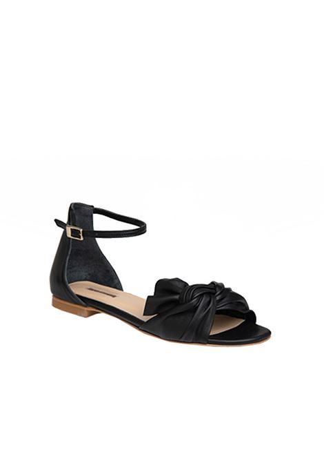 Sandalo basso nero ALBANO | Sandali | 4133NERO