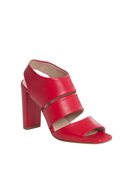 Sandalo rosso ALBANO | Spuntati | 4134NAPPAROSSA
