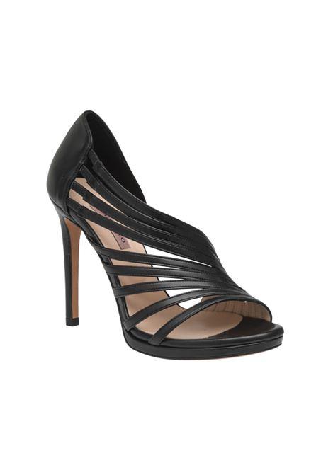 Sandalo accollato nero ALBANO | Sandali | 4140SOFTNERO