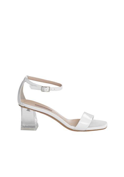 Sandalo in vernice ALBANO | Sandali | 4151VERNICEBIANCA