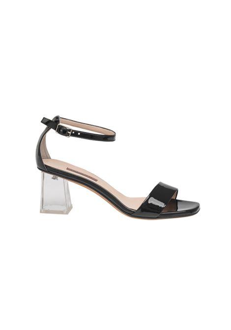 Sandalo in vernice nero ALBANO | Sandali | 4151VERNICENERA
