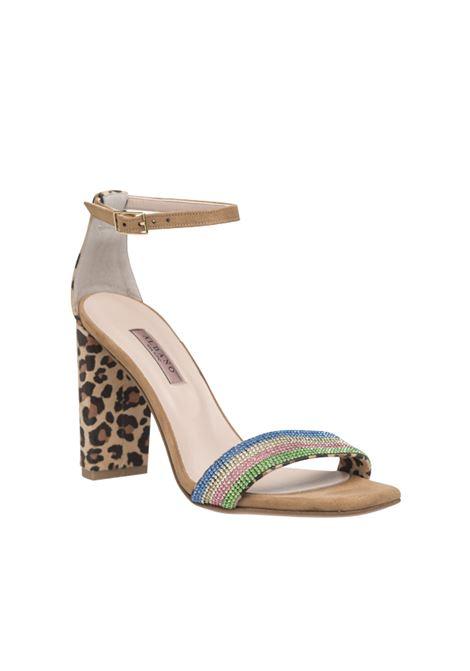 Sandalo multicolor ALBANO | Sandali | 4153LEOPARD