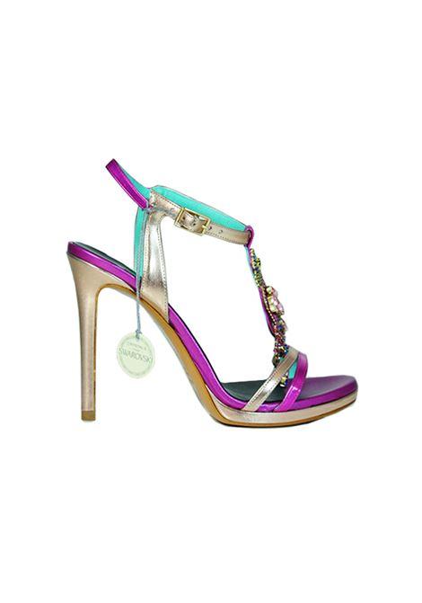Sandalo alto con acessorio ALBANO | Sandali | 4182METALRAME
