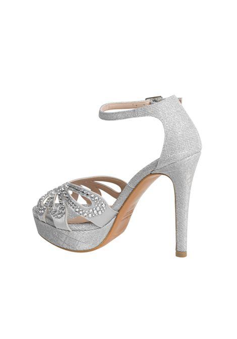 Sandalo argento con strass ALBANO | Sandali | 4212NIGHTARGENTO