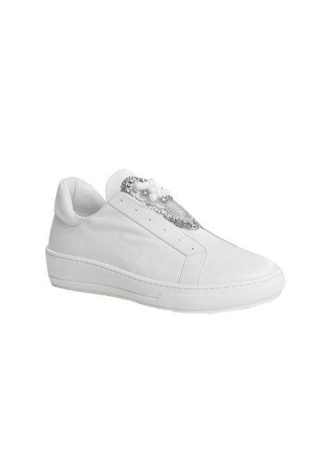 Ginnica bianca con accessorio ALBANO | Ginnica | 4272NAPPABIANCA