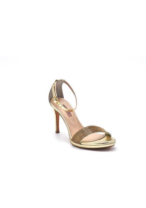 Sandalo oro con strass ALBANO | Sandali | 4282METALPLATINO